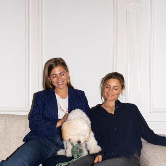 Susanne og Anette Bastviken