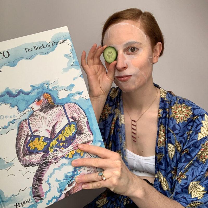 Constance Tenvik med The Book of Dreams