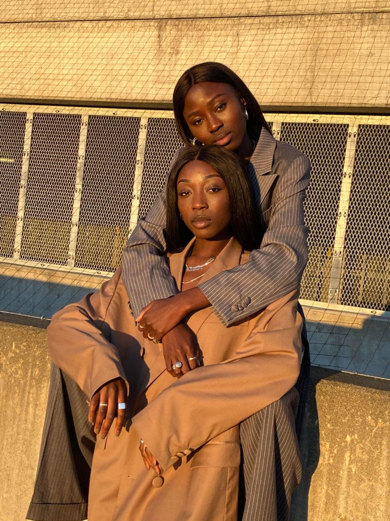 Haddy og Aissatou Ceesay